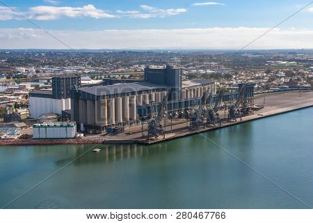 Australia Is A Large Exporter Of Products Such As Wheat And Grain Loading Facilities Such As This On