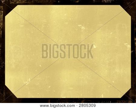 Computer designed highly detailed grunge border and aged textured paper background. Nice grunge element for your projects poster