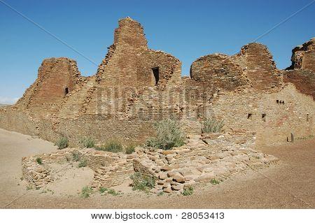poster of Chaco Canyon ruins