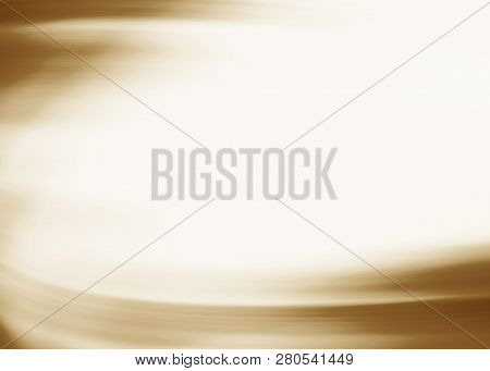 Abstract Gold Background Luxury Christmas Holiday Wedding Background Brown Frame Bright Spotlight Sm