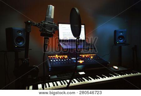 Small Bedroom Recording Studio