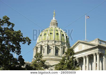 Pennsylvania State Capital Building in Harrisburg