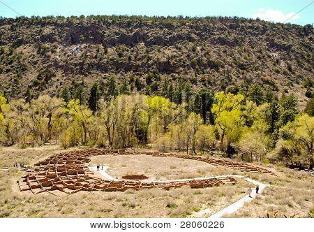 Bandelier Pueblo Ruins poster