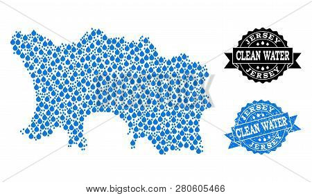Map Jersey Island Vector & Photo (Free Trial) | Bigstock