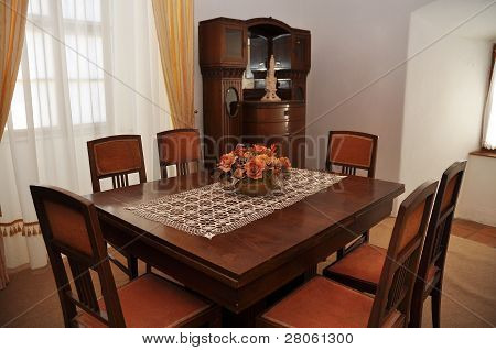ancient dining room