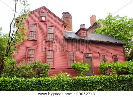 Governor Stephen Hopkins House and museum National Historic Landmark