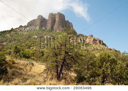 Chisos Mountains peak