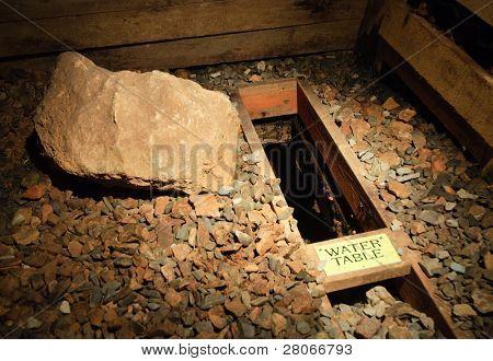 Reed Gold Mine underground interior