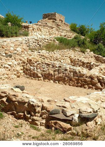 Tuzigoot National Monument ruins