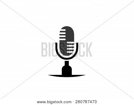 Microphone And Speakerphone A Mike For Logo Design