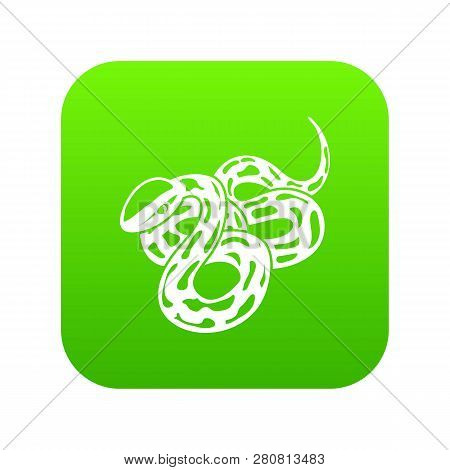 Texas Snake Icon Green Image & Photo (Free Trial) | Bigstock