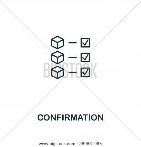 Confirmation Outline Image & Photo (Free Trial) | Bigstock