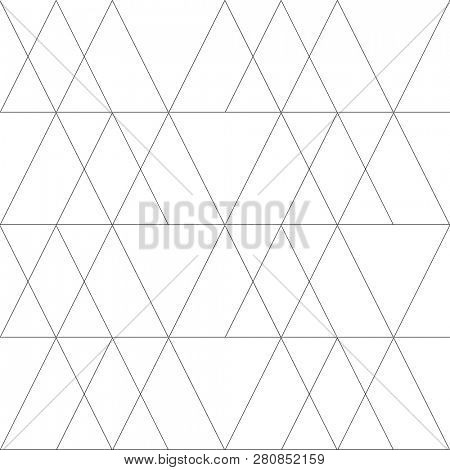 Seamless geometric pattern. Modern stylish abstract texture