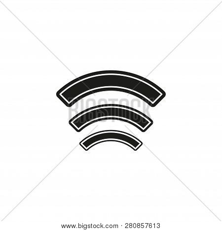Wireless And Wifi Icons. Wireless Network Symbol. Wireless And Wifi Vector. Flat Pictogram - Simple