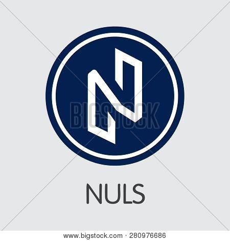 Nuls - Nuls. The Icon Of Coin Or Market Emblem.
