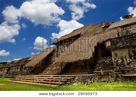 Ancient Maya city of Ek Balam, Yucatan, Mexico