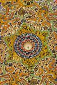 Tile engraving at Mevlana mausoleum in Konya, Cappadocia, Turkey poster
