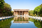 Chehel Sotoun (Sotoon) Palace built by Shah Abbas II, Esfahan , Isfahan, Iran poster