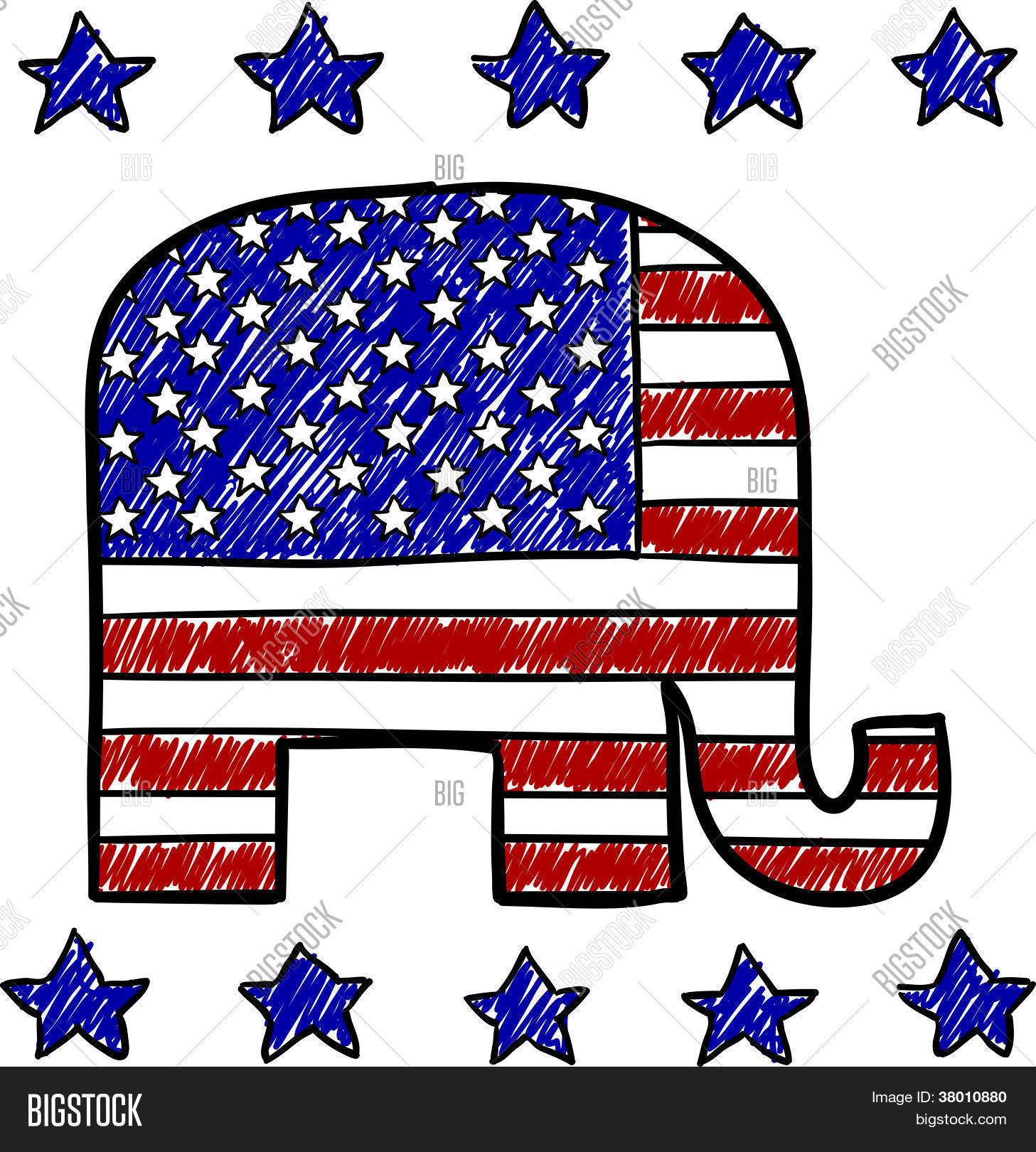 Republican Party Vector & Photo (Free Trial) | Bigstock