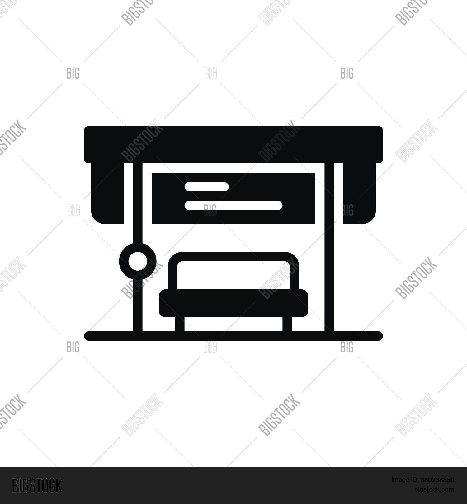 Black Solid Icon Bus Vector Photo Free Trial Bigstock