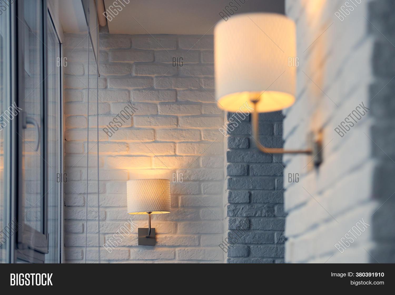 Wall Lamp Modern Loft Image Photo Free Trial Bigstock