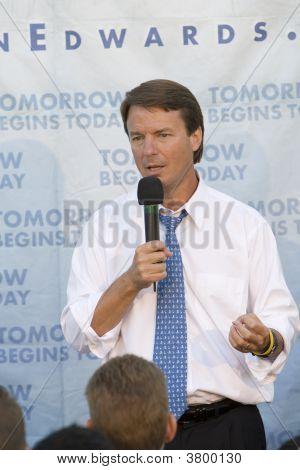 John Edwards Rally