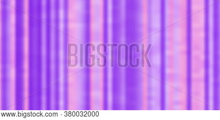 Abstract Light Blue, Pink Vector Template With Geometric Vertical Blurry Ribbons. Textured Ribbons B