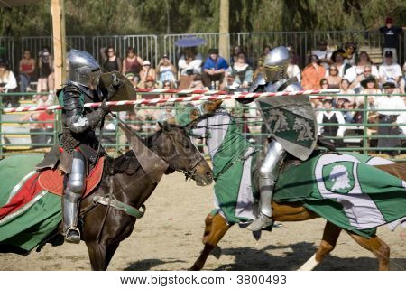 Renaissance Pleasure Faire - Jousting Knights