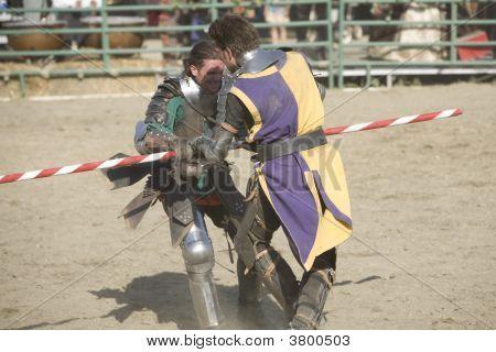 Renaissance Pleasure Faire - Knights Battle