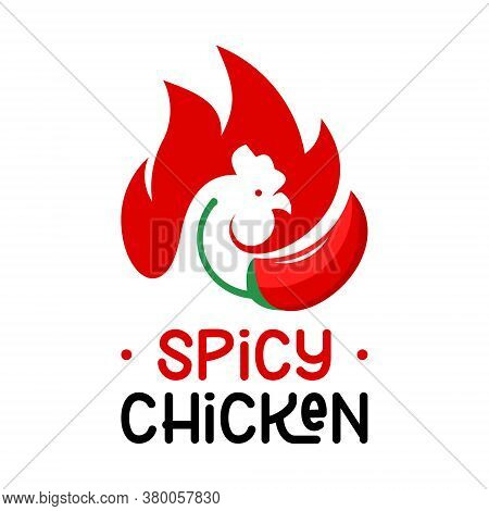 Chicken Logo Bbq Vector Grill Meat Food And Beverage Label Template Design Idea
