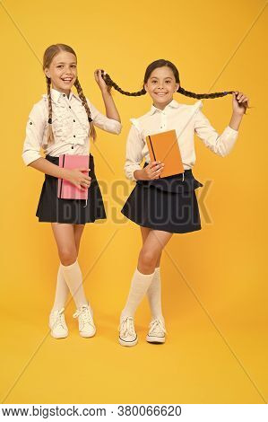 First Day At School. Most Important Thing One Learns In School Is Self Esteem Support And Friendship