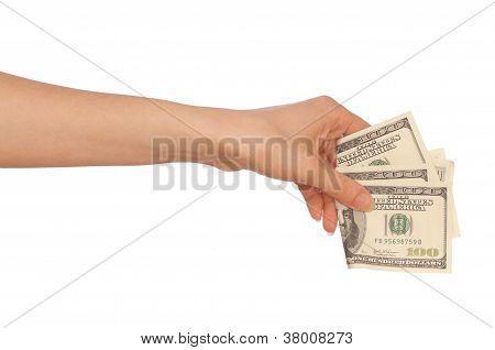 buying goods