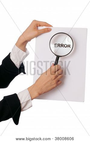 find Error