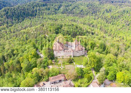 Kyburg castle located between Zurich and Winterthur, Switzerland