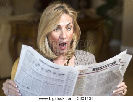 Recession In The Newspaper