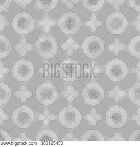 Abstract Seamless Background Of Colorful Striped Pattern. Artistic Messy Pattern Like Colorful Cutti