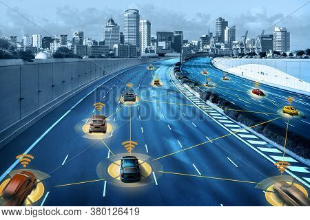 Autonomous Car Sensor System Concept For Safety Of Driverless Mode Car Control . Future Adaptive Cru
