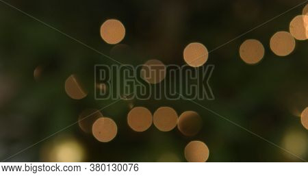 Blured christmass background - tree and lights
