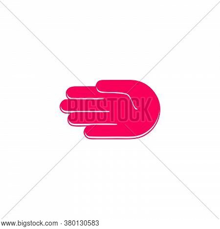 Abstract Letter D Geometric Swoosh Fast Design Symbol Logo Vector