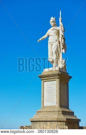 The Statue of Liberty in San Marino city, The Republic of San Marino