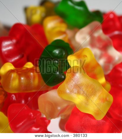Gummy Candy Bears