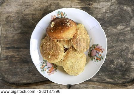 Apem, Apam Or Appam, Is Tradional Snack Or Food From Indonesia. Made From Rice Flour, Eggs, Coconut