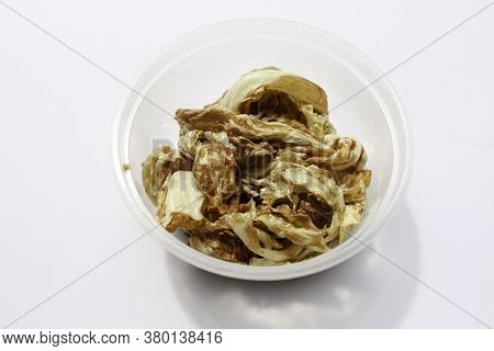 Fried Cabbage Or Kol Goreng Is Stir Fried Vegetable Usually Use For Side Dish For Indonesian Food.