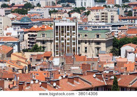 City Of Perpignan In France