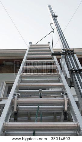 Exterior House Ladder