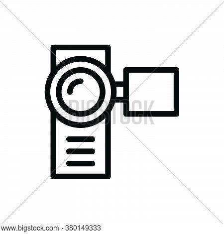 Handy Cam Icon For Website Design And Desktop Envelopment, Development. Premium Pack.