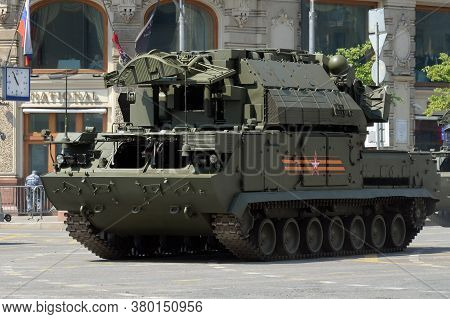 Moscow, Russia - June 20, 2020:all-weather Tactical Anti-aircraft Missile System