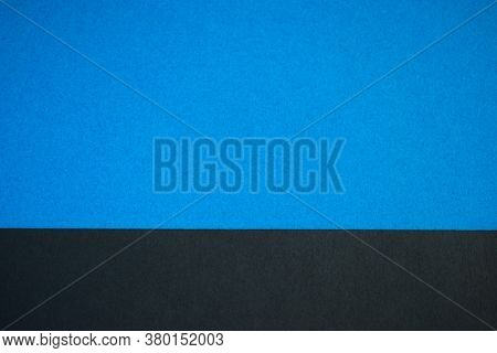 Black And Blue Abstract Divided Background, Website Template
