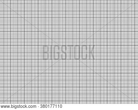Seamless Geometric Grid. Architect Blueprint Paper Template.