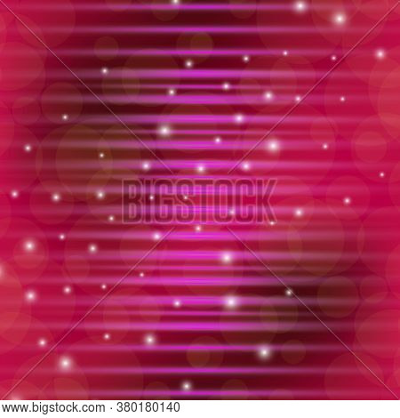 Light Beam Pink Elegant Horizontal For Background, Disco Light Shine Horizontal Geometric, Neon Beam